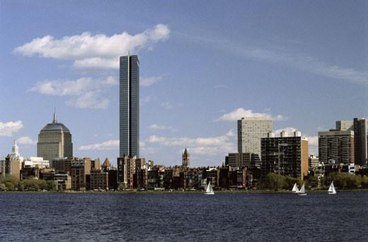 Stock Photo: 1491R-1041312 Charles River - Boston, Massachusetts