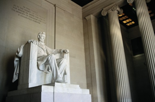 The Lincoln Memorial : Stock Photo