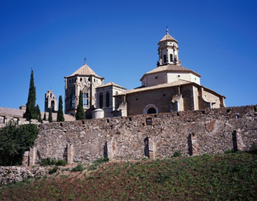 Stock Photo: 1491R-1046892 Poblet Monastery