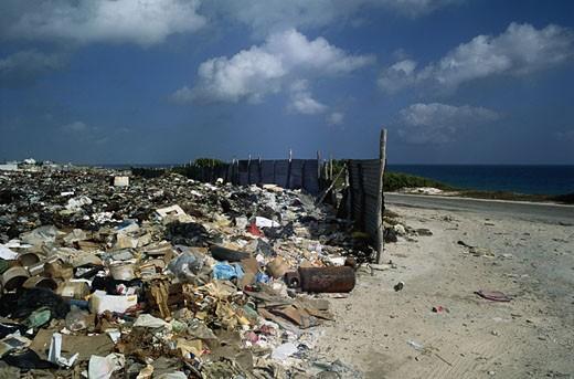 Stock Photo: 1491R-1047362 Beach Dump