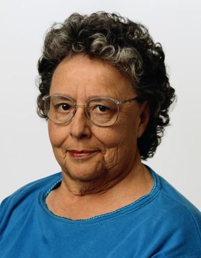 Portrait of an Uncertain Woman : Stock Photo