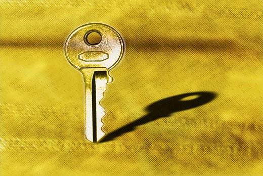 Stock Photo: 1491R-1057140 Standing key