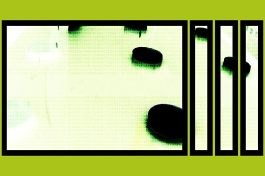 Chartreuse abstract : Stock Photo