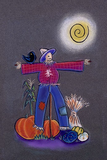 Scarecrow : Stock Photo