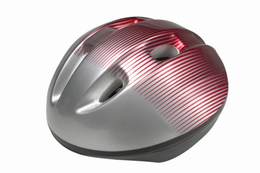Close up of a cycling helmet : Stock Photo