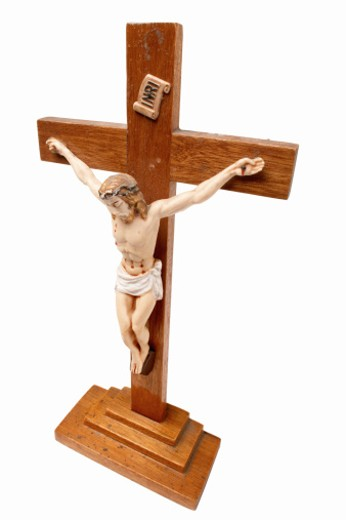 Close up of a crucifix : Stock Photo