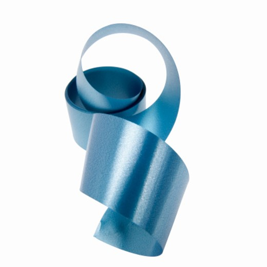 Close up of a roll of ribbon : Stock Photo