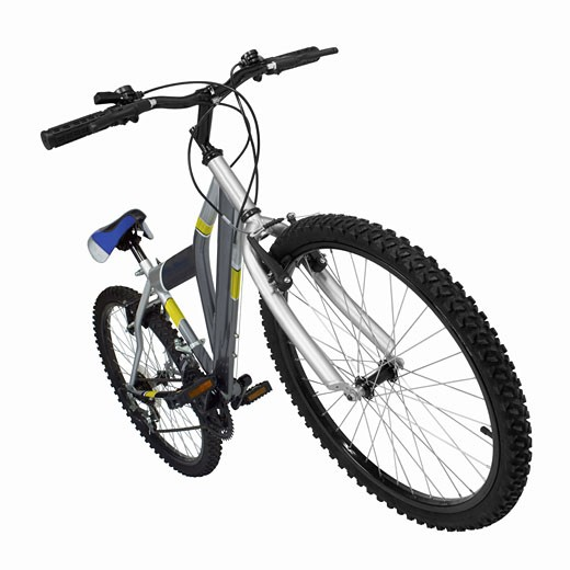 Close up of a mountain bike : Stock Photo