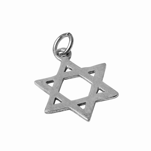 Close up of the Star of David : Stock Photo
