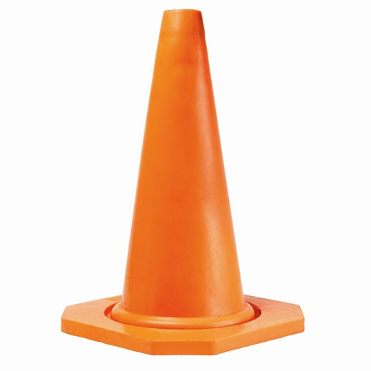 Close up of a traffic cone : Stock Photo