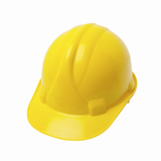 Close up of a hard hat : Stock Photo