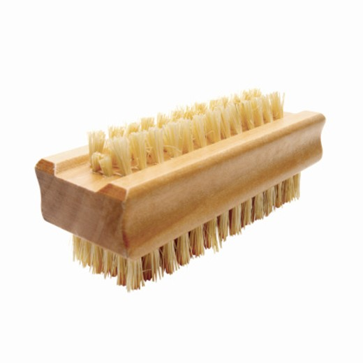 Close up of a nailbrush : Stock Photo