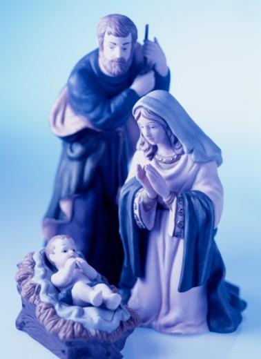 Nativity statues : Stock Photo