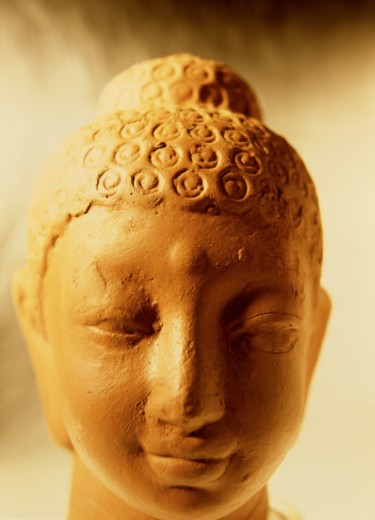 Buddha statue close-up : Stock Photo