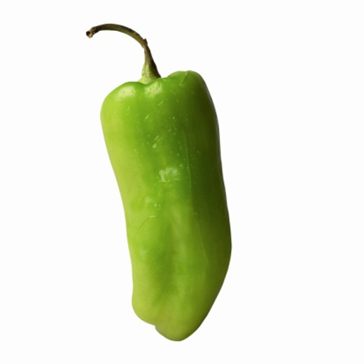 Close-up of a banana pepper : Stock Photo
