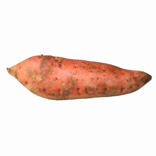 Close-up of a sweet potato : Stock Photo