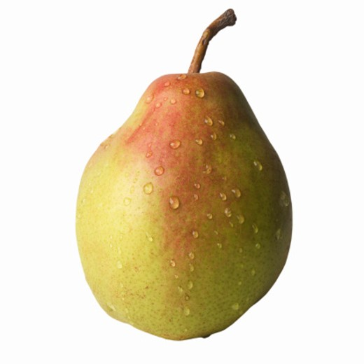 Stock Photo: 1491R-1076151 Close-up of a comice pear