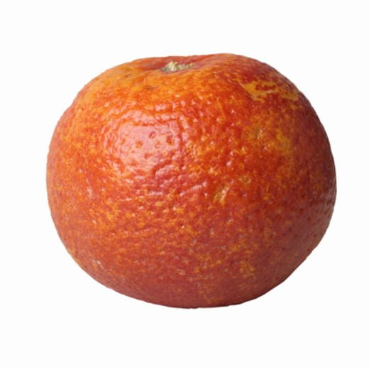 Close-up of a blood orange : Stock Photo