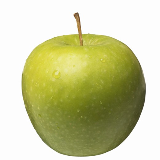 Close-up of a green apple : Stock Photo