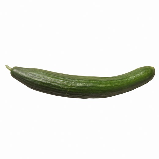 Stock Photo: 1491R-1076359 Close-up of a cucumber