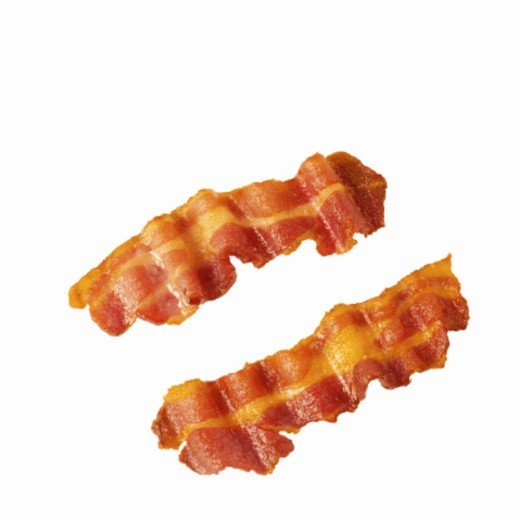 Close-up of bacon : Stock Photo