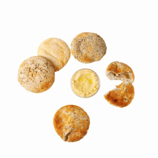 Stock Photo: 1491R-1076658 Close-up of bread buns