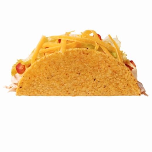 Close-up of a taco : Stock Photo