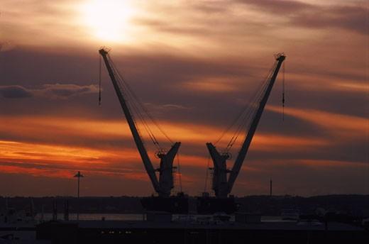 cranes : Stock Photo