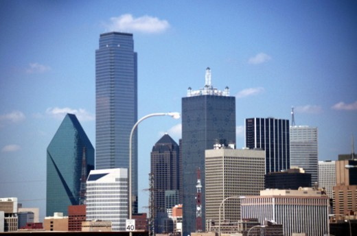 USA, Texas, Dallas, View of cityscape : Stock Photo