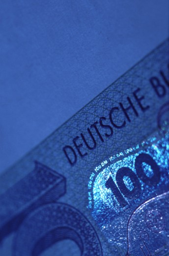 German banknote : Stock Photo