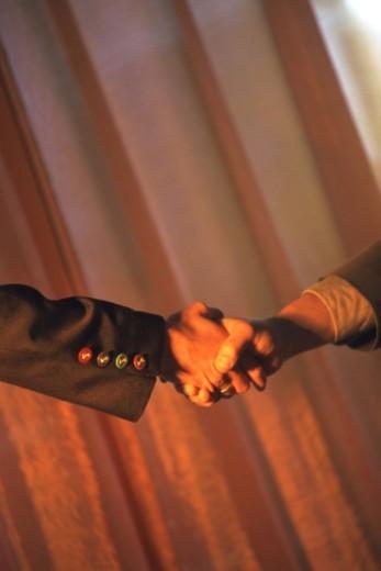 Stock Photo: 1491R-1142498 handshake