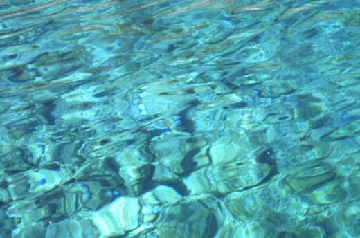 Rippled water, full frame : Stock Photo