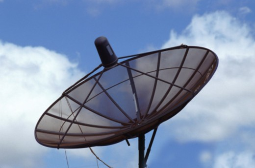 Stock Photo: 1491R-1145772 dish aerial