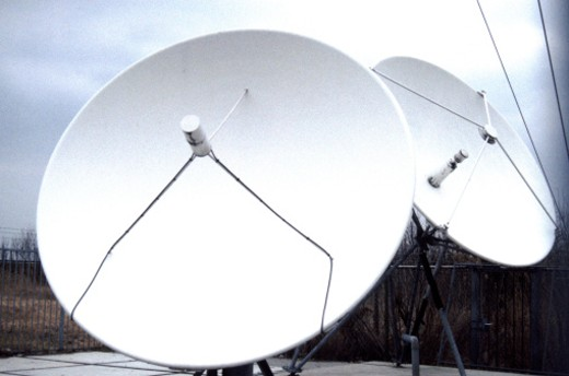Stock Photo: 1491R-1145791 satellite dish