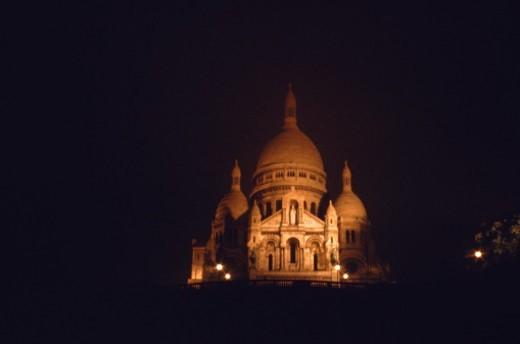 Stock Photo: 1491R-1146388 Sacre Coeur, Paris