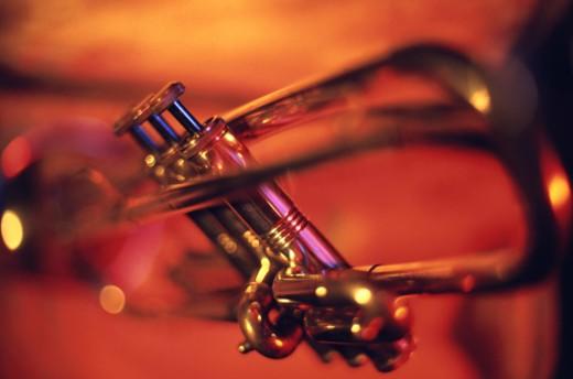 Stock Photo: 1491R-1146555 trumpet