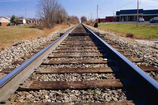 Railroad track : Stock Photo