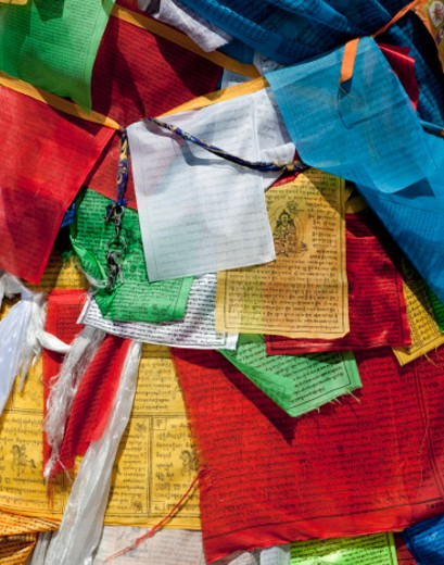 Tibetan Prayer Flags : Stock Photo