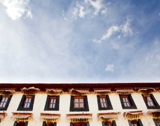Stock Photo: 1491R-1161768 Jokhang Temple, Tibet