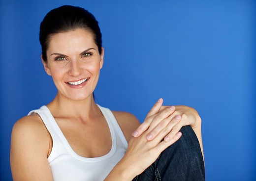 Stock Photo: 1491R-1163965 Female Beaty, Health and wellness