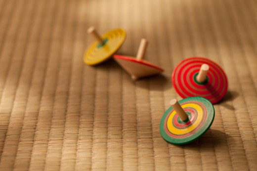 Stock Photo: 1491R-1165272 Japanese traditional toy.