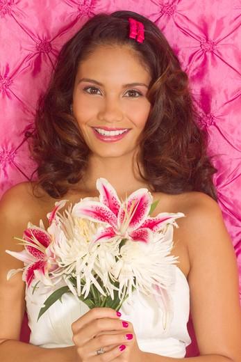 Stock Photo: 1491R-1165352 bouquet queen