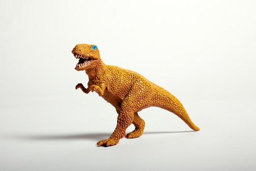 Toy dinosaur. : Stock Photo