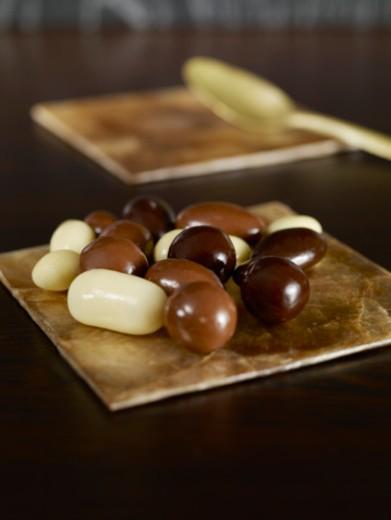 chocolate balls : Stock Photo