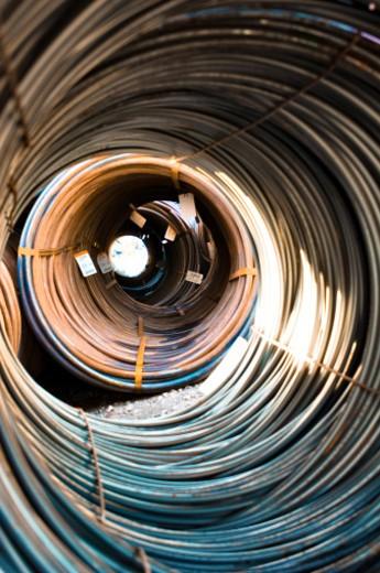 Iron Coils : Stock Photo