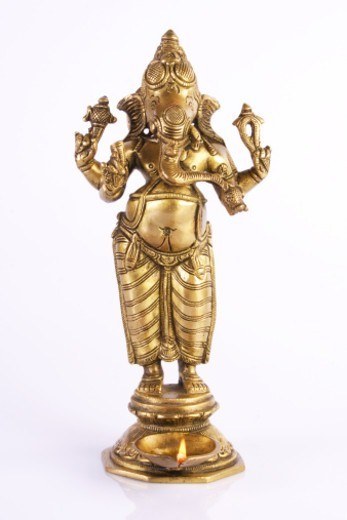 Stock Photo: 1491R-1178096 An Idol of Ganesh