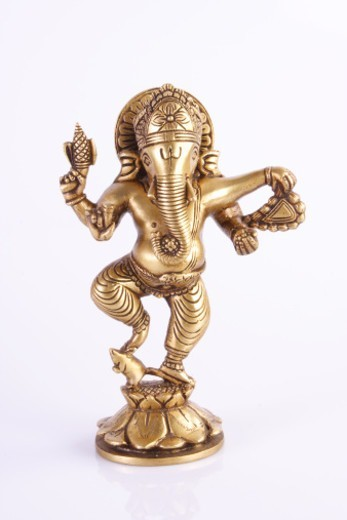 Stock Photo: 1491R-1180706 An Idol of Ganesh