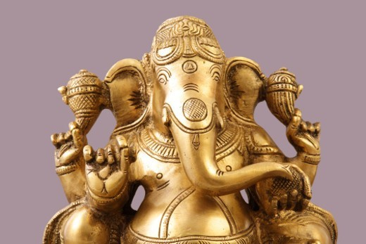 Stock Photo: 1491R-1185089 Statue of Lord Ganesh
