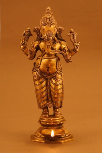 Stock Photo: 1491R-1186844 Statue of Lord Ganesh