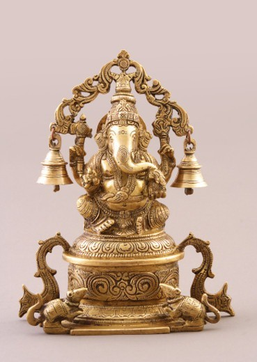 Stock Photo: 1491R-1191215 Statue of Lord Ganesh